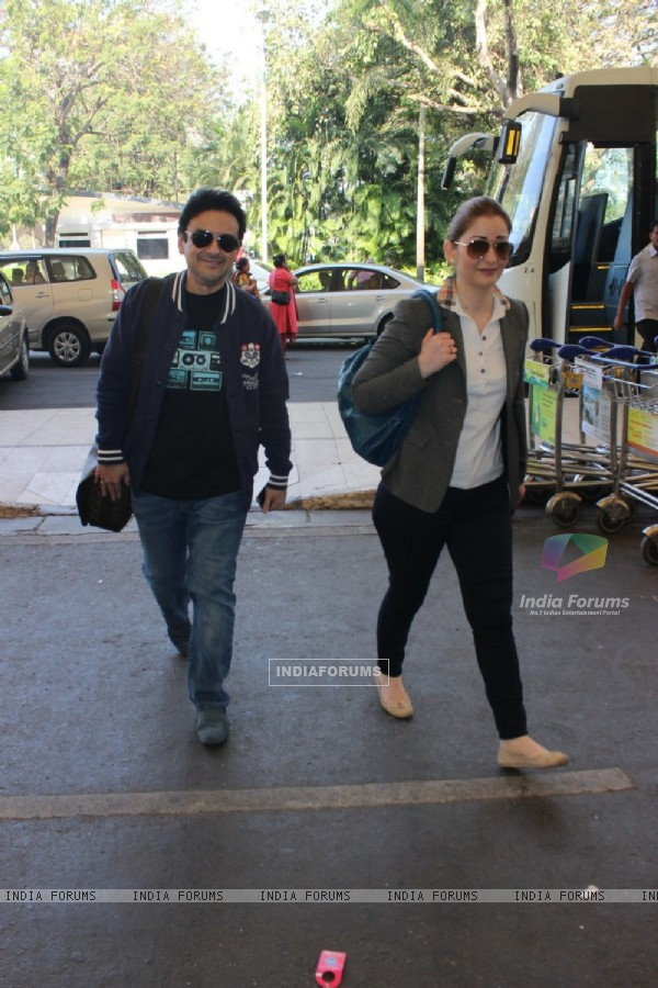 Adnan Sami Khan Snapped at Airport