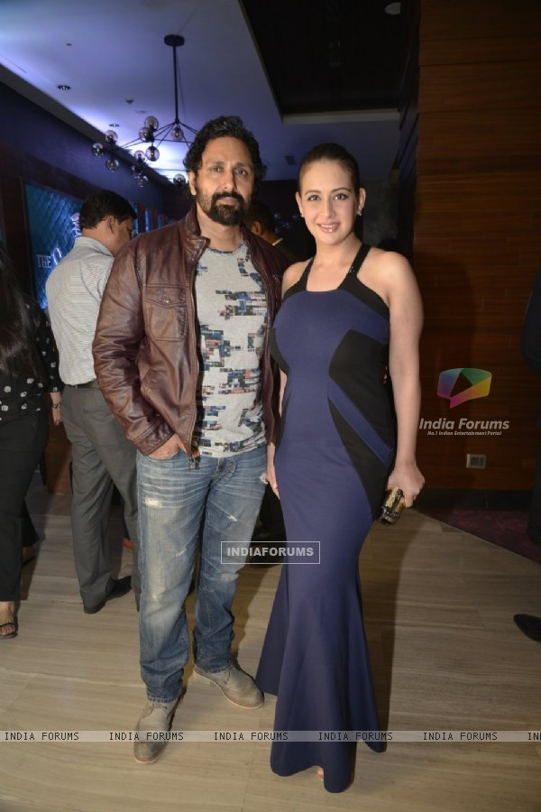 Preeti Jhangiani and Parvin Dabas at Launch of 'Singleton' Collection