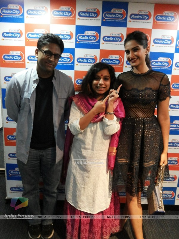 Sonam Kapoor for Promotions of 'Neerja' at Radio City FM 91.1