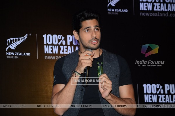 Sidharth Malhotra at Launch of New Tourism Campaign for New Zealand