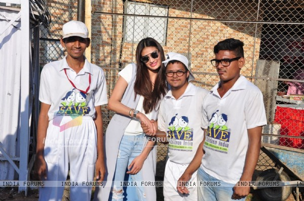 Athiya Shetty at Pitch Blue's Vishesh Cup