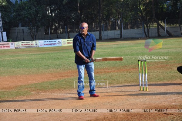 Vinod Kambli at Pitch Blue's Vishesh Cup