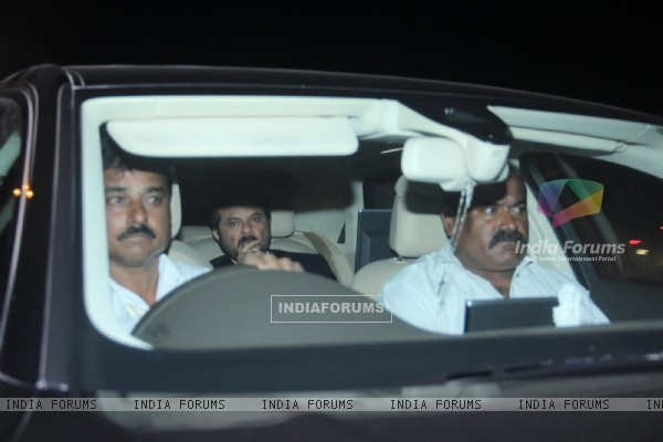 Anil Kapoor Attend Sikander Kher's Engagement