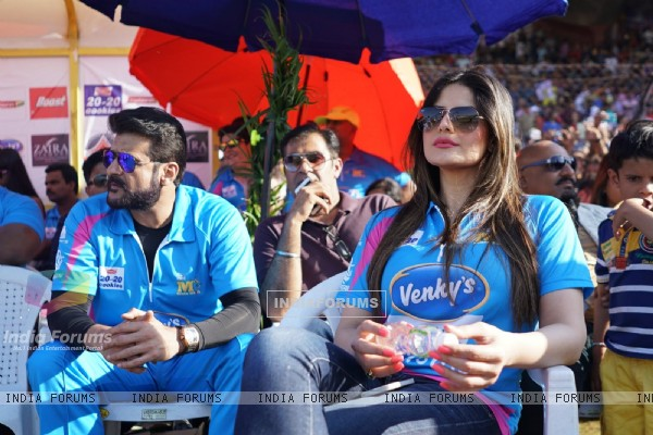 Zarine Khan Snapped at CCL Match