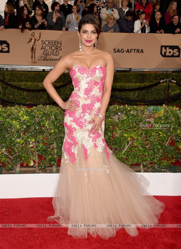 Priyanka Chopra at 22nd Screen Actors Guild Awards