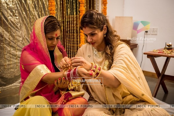 Raveena Tandon's Daughter's Marriage Pictures