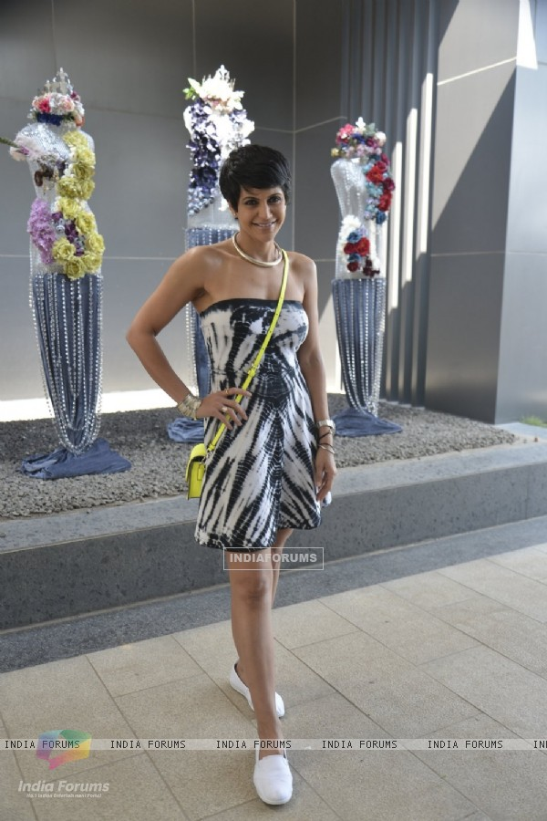 Mandira Bedi at Shane Falguni Brunch for Rustomjee