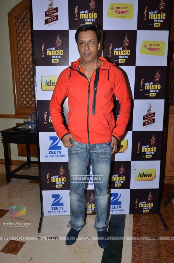 Madhur Bhandarkar at Mirchi Music Awards