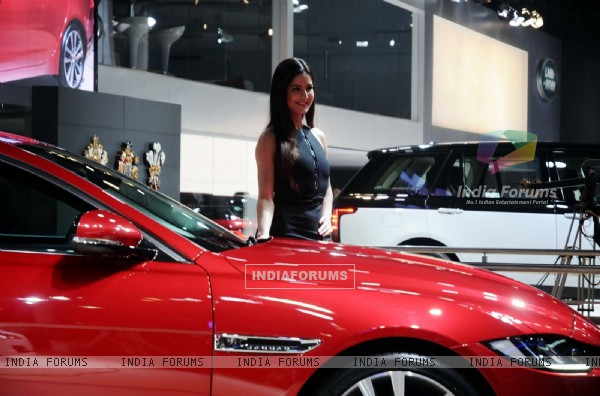 Katrina Kaif at Auto Expo in Delhi