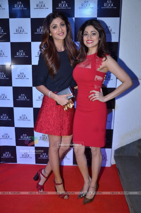Shilpa Shetty at Shamita Shetty's Birthday Bash