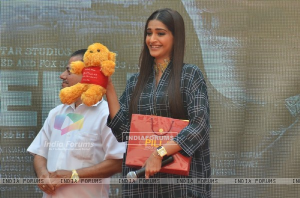 Sonam Kapoor at Song Launch of 'Neerja' at Pillai College