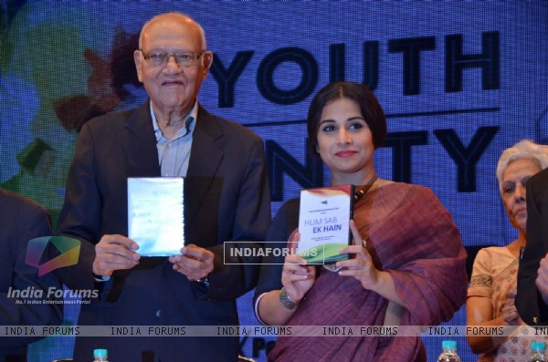 Vidya Balan at 'Youth Unity Conference'