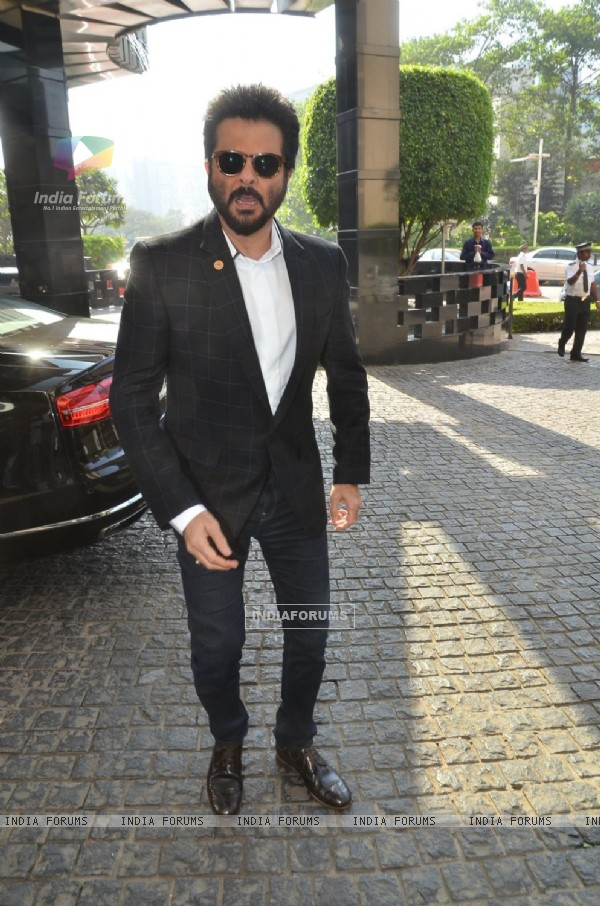 Anil Kapoor at Press Meet of Zee Cine Awards