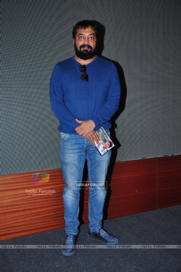 Anurag Kashyap at the Promotions of Manoj Bajpai's Film Tandav