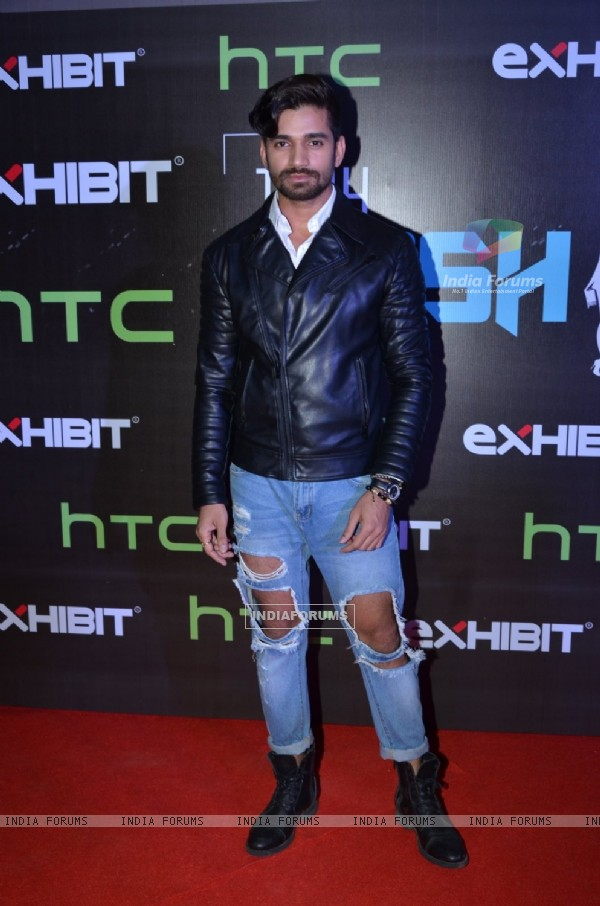Vishal Singh at HTC Fashion Show 2016