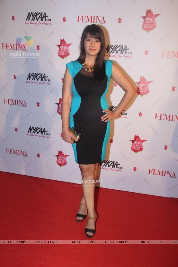 Preeti Jhangiani at Femina Beauty Awards 2016