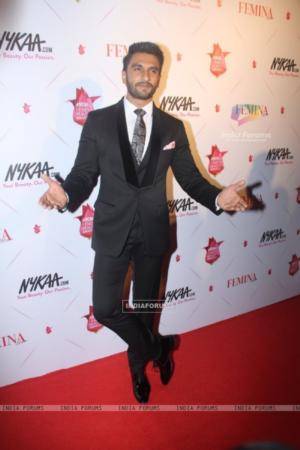Ranveer Singh at Femina Beauty Awards 2016