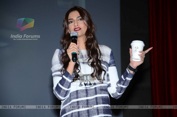 Sonam Kapoor for Promotions of 'Neerja' at IIT Powai