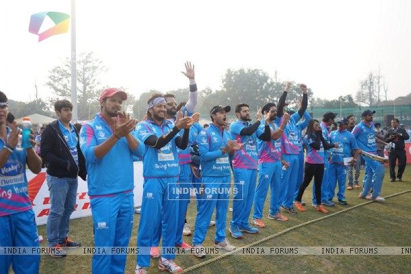 Riteish Deshmukh at 'Celebrity Cricket League' Match