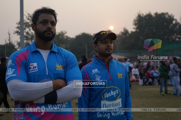 Vatsal Seth at 'Celebrity Cricket League' Match