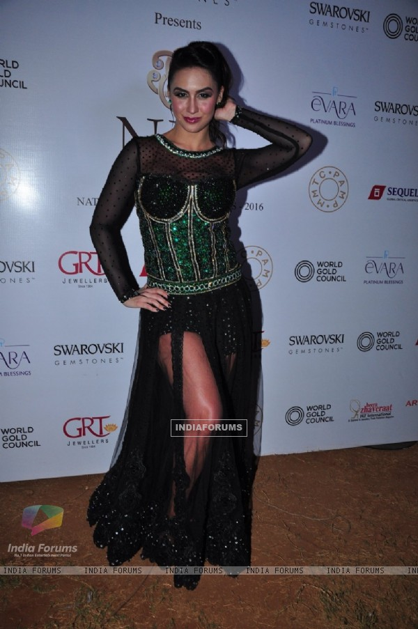 Lauren Gottlieb at National Jewellery Awards 2016