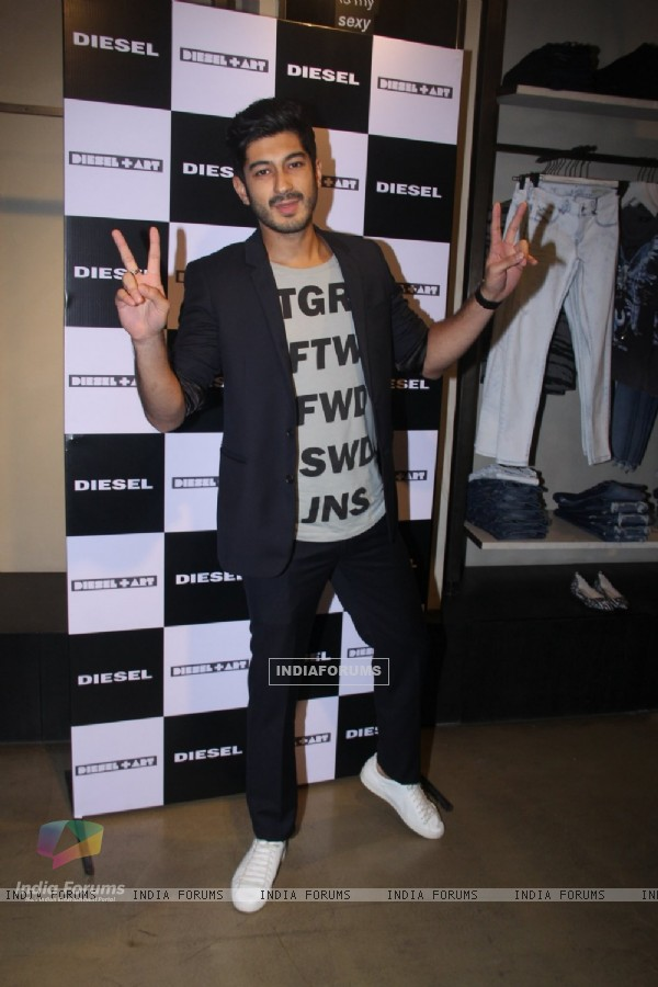 Mohit Marwah at Rohan Shrestha's Hanami Exhibition