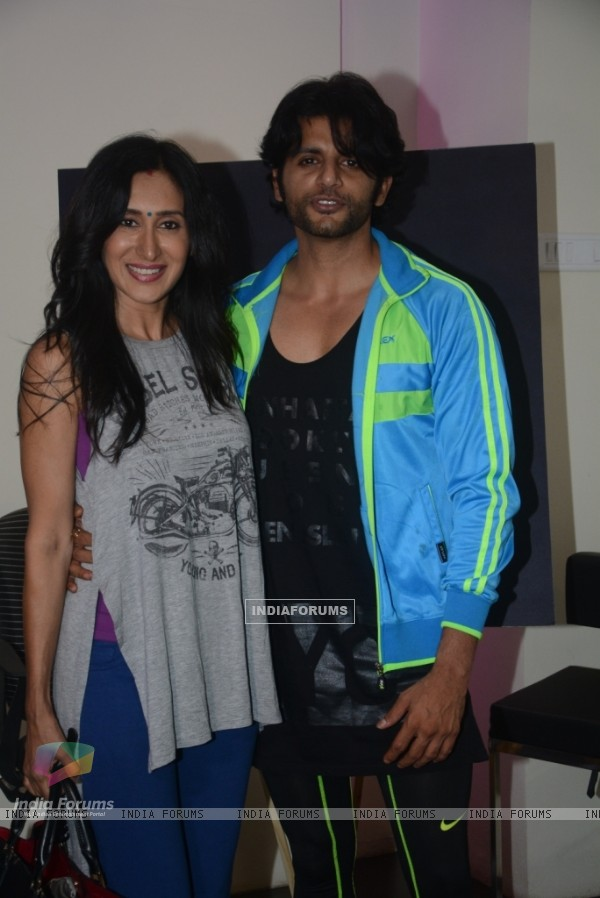 "Karanvir Bohra with Teejay Sidhu at Special Screening of ""Breakfast at Tiffany's"""