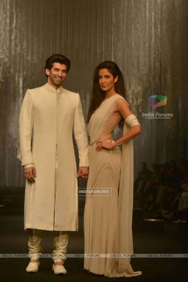 Aditya and Katrina Walks for Tarun Tahiliani