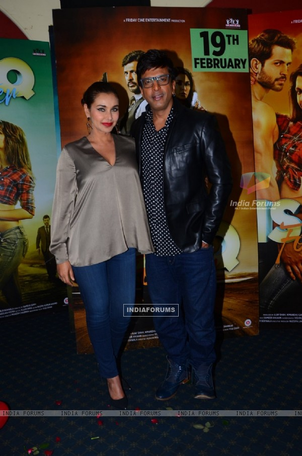 Lisa Ray and Javed Jaffrey at Promotions of 'Ishq Forever'