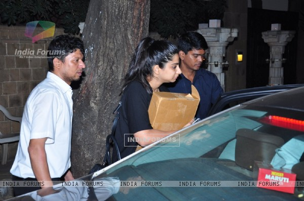 Rhea Kapoor at Anil Kapoor's Bash for 24 Season 2