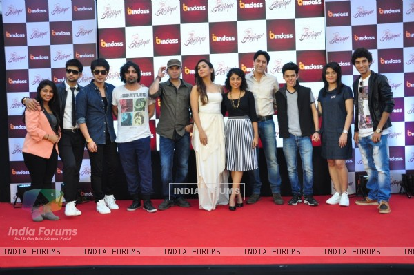 Celebs at Launch of Bindass New Show ' Yeh Hai Aashiqui'