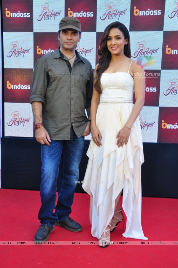 Mohit Chauhan and Neeti Mohan at Launch of Bindass New Show ' Yeh Hai Aashiqui'