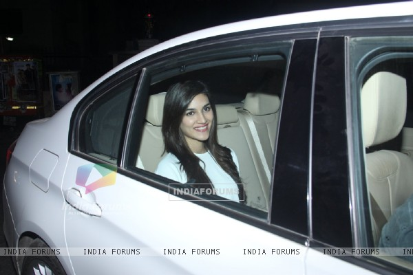 Kriti Sanon at Special Screening of Fitoor
