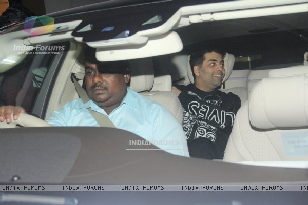 Karan Johar at Special Screening of Fitoor