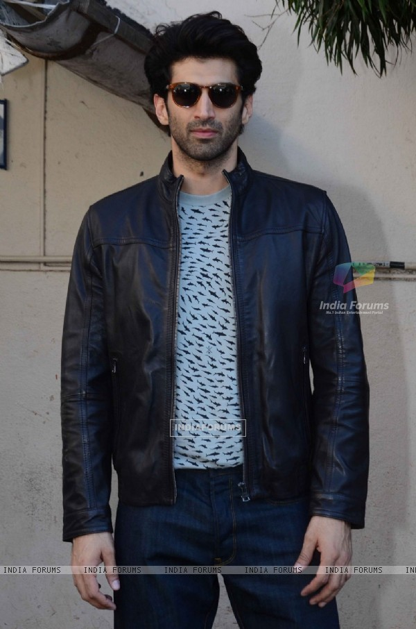 Aditya Roy Kapur  Spotted at Mehboob Studios