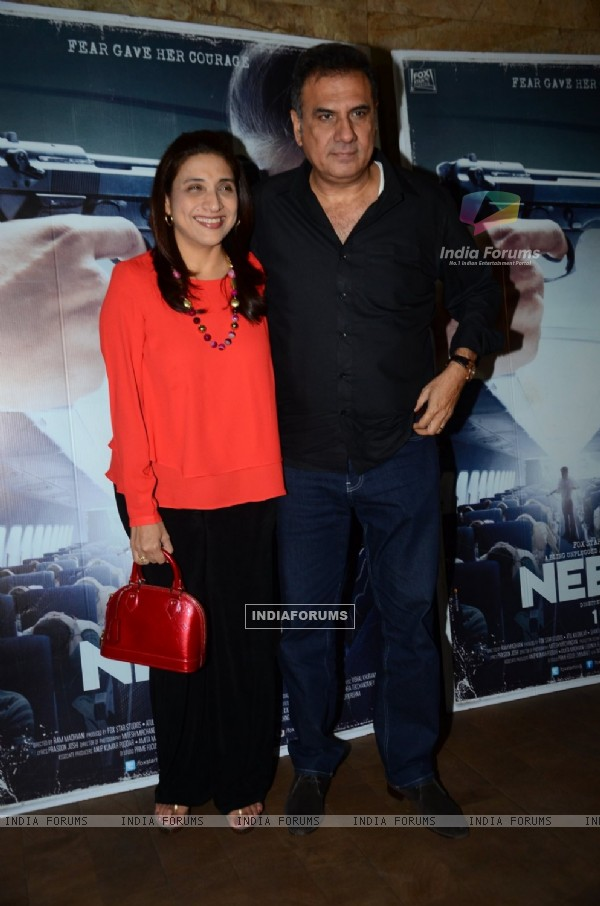 Boman Irani at Special Screening of 'Neerja'