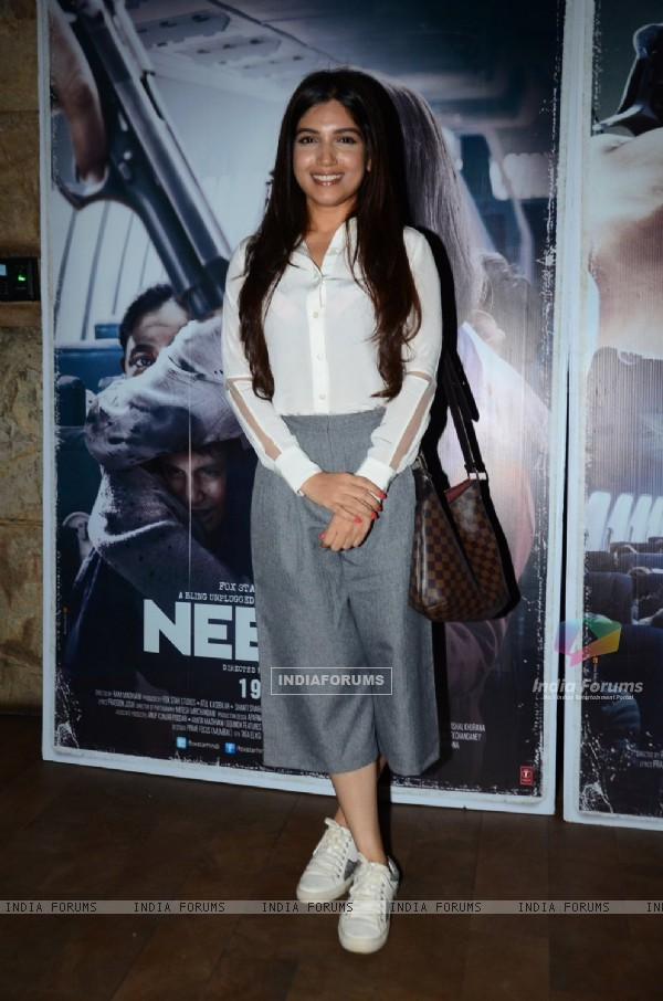 Bhumi Pednekar at Special Screening of 'Neerja'