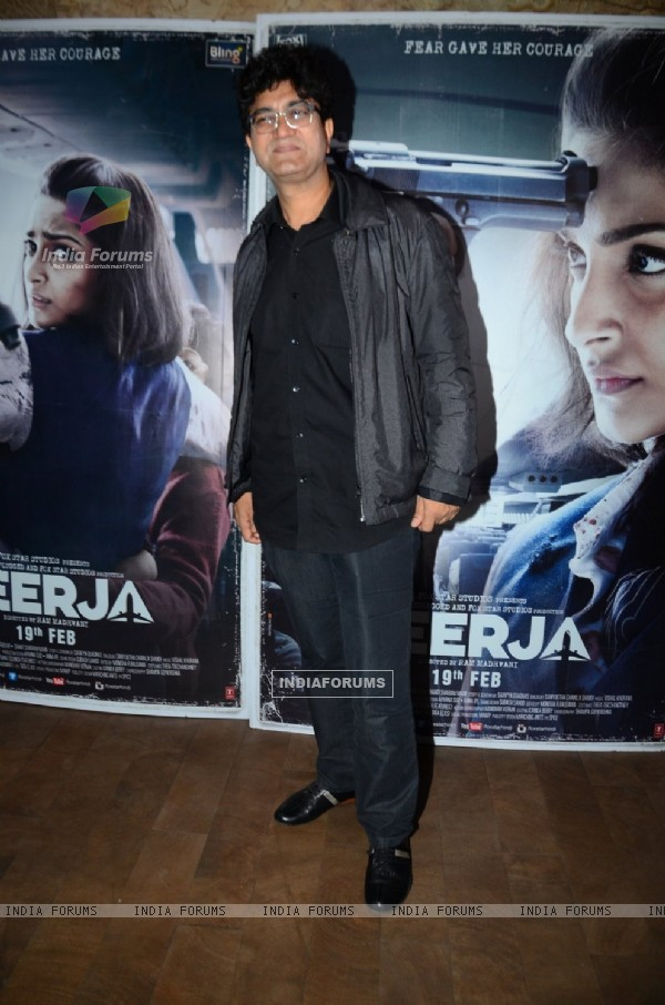 Prasoon Joshi at Special Screening of 'Neerja'