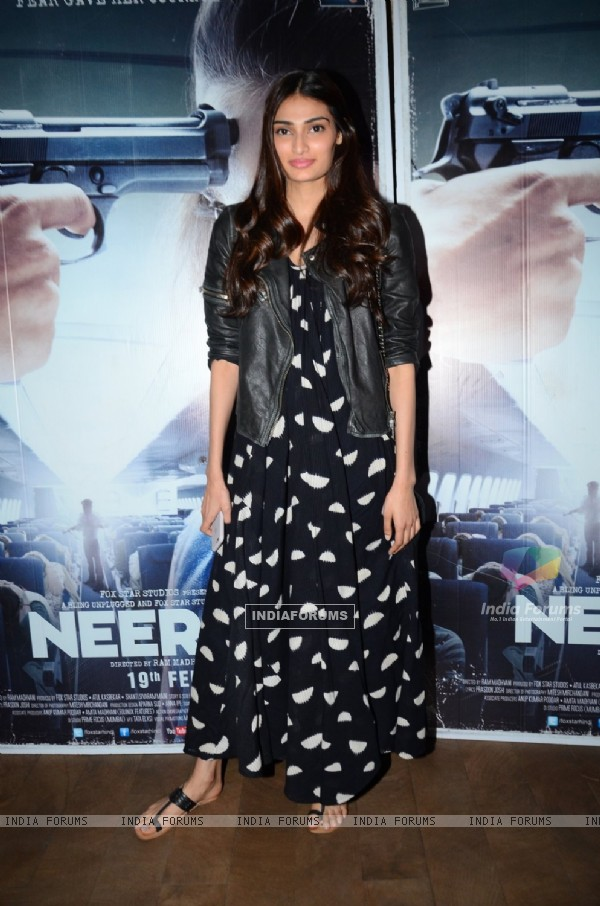 Athiya Shetty at Special Screening of 'Neerja'
