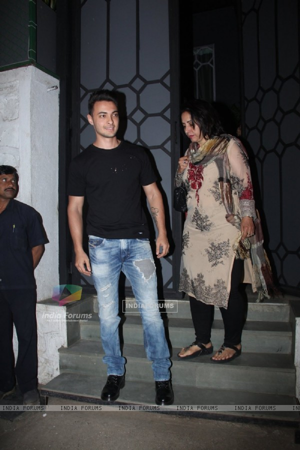 Aayush Sharma at Pre Baby Shower Dinner!