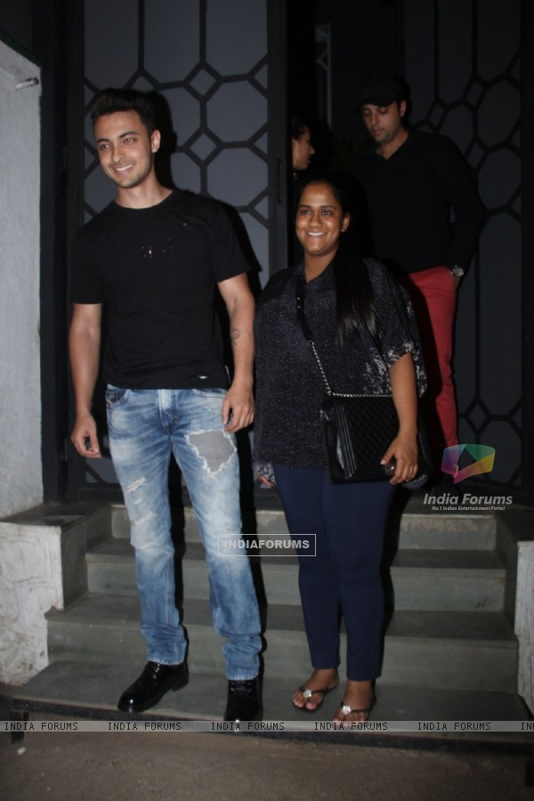 Aayush Sharma and Arpita Khan's Pre Baby Shower Dinner!