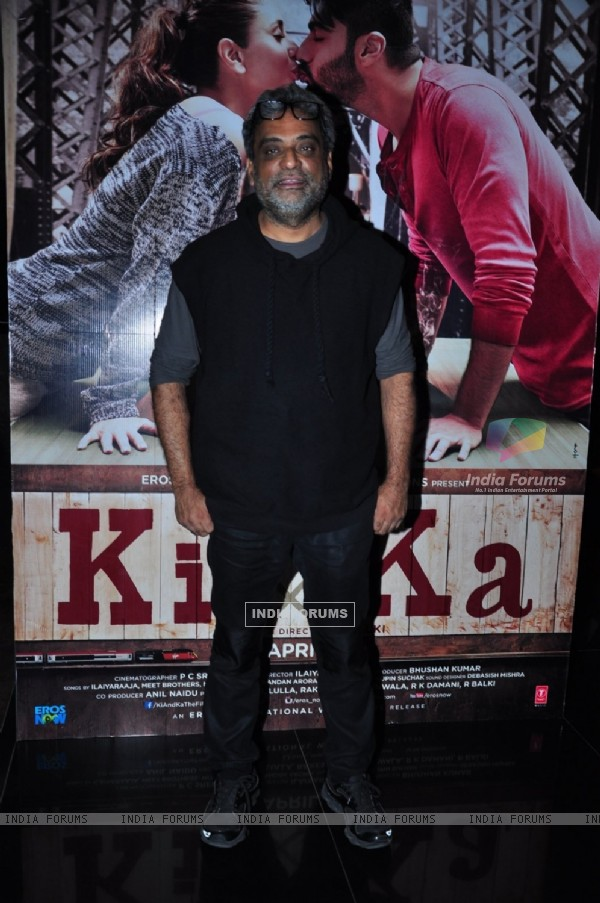 R. Balki at Trailer Launch of 'Ki and Ka'