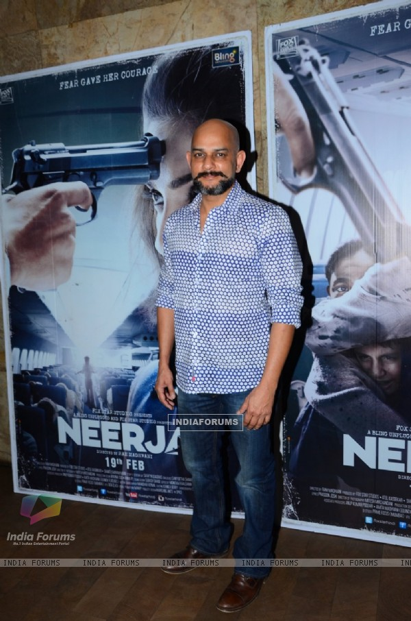 Vijay Krishna Acharya at Special Screening of 'Neerja'