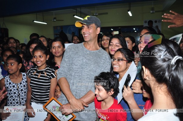 Akshay Kumar at Martial Arts Certificate Distribution Event