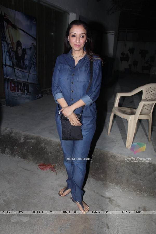 Special Screening of 'Aligarh': Madhurima Nigam