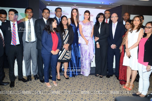 Jacqueline Fernandes at Cinnamon Hotel and Sri Lankan Airlines PC