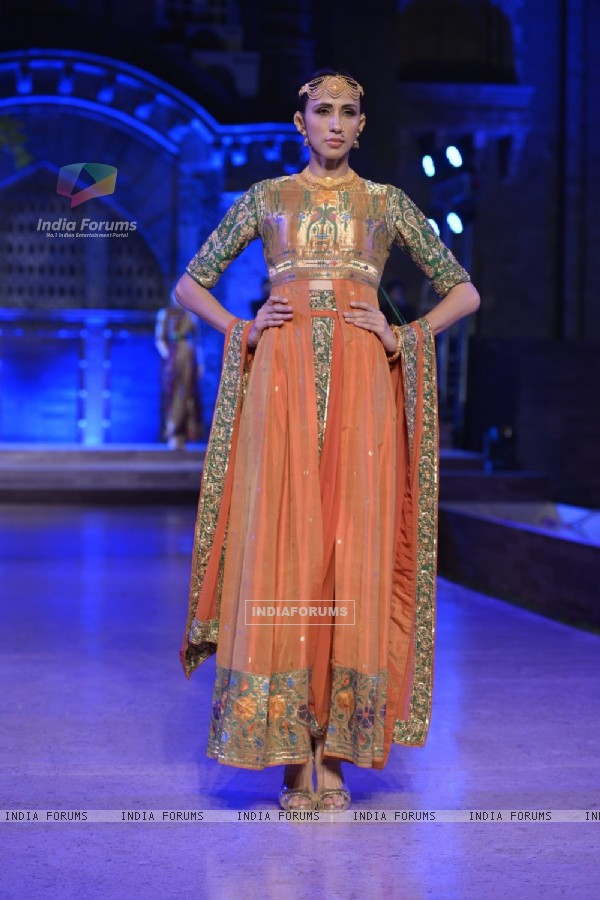 Neeta Lulla Show at Make in India Bridal Couture Show