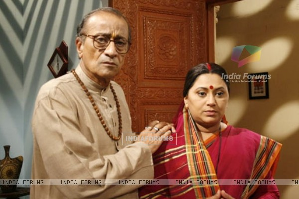 The oldest couple Jagdish and Laxmi Jaiswal