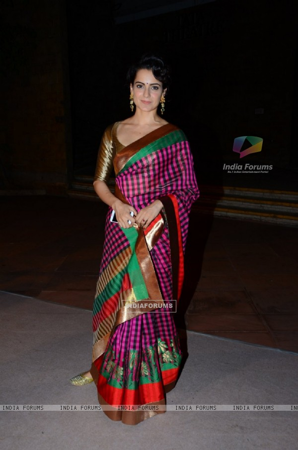 Kangana Ranaut at Shobhaa De's Daughter's Wedding