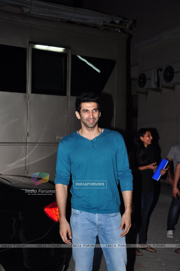 Aditya Roy Kapur was Spotted in the City